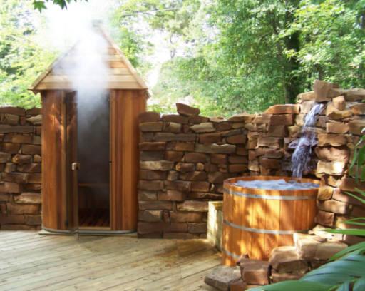 Vertical Barrel Saunas