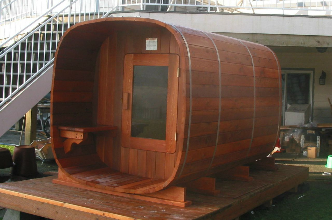 Cedar Barrel Saunas Custom Barrel Saunas Manufacturer