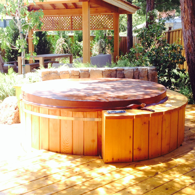 Wood Tub Operating Equipment Custom Leisure Products